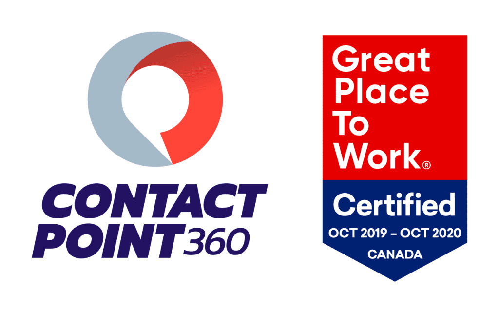 ContactPoint 360 Certified as a Great Place to Work®