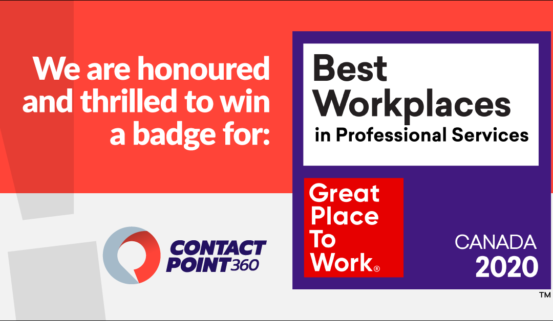 ContactPoint 360 Made It To The 2020 List of Best Workplaces™ in Professional Services