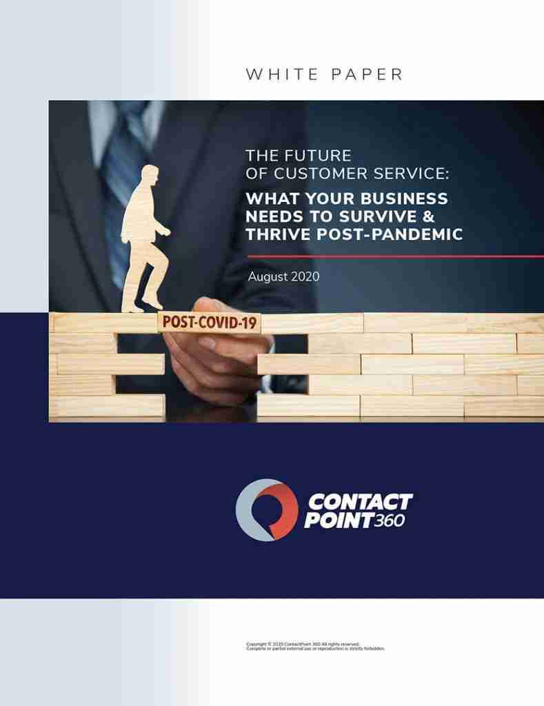ContactPoint 360 - White Paper - The Future os Customer Service