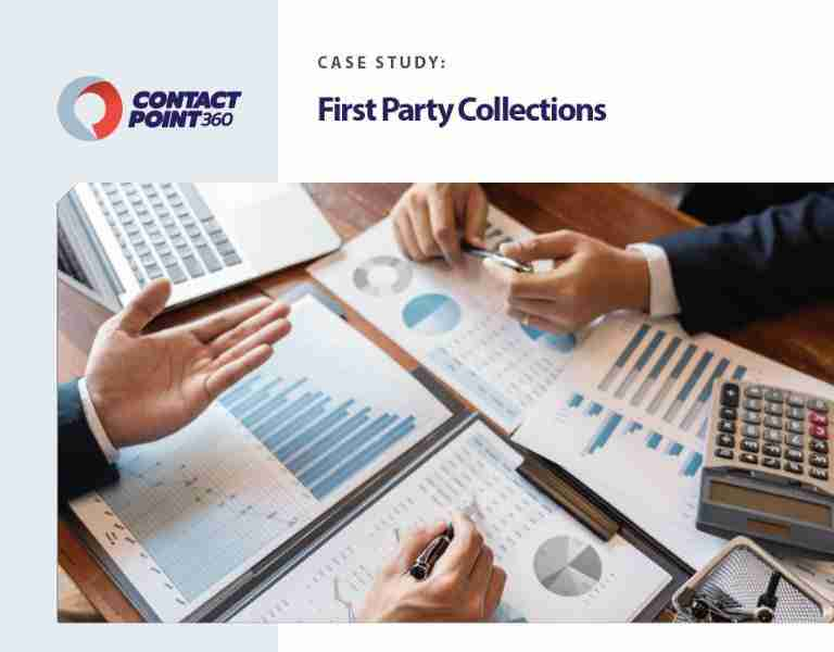 ContactPoint 360 Case Sudy First Party Collections