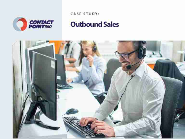 ContactPoint 360 Case Sudy Outbound Sales