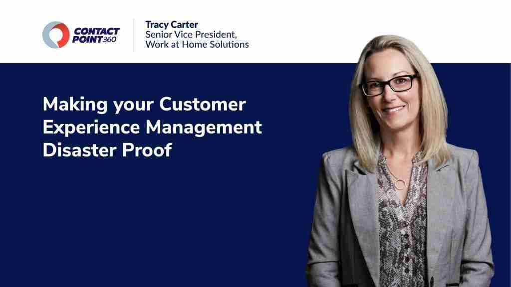 Podcast: Making your Customer Experience Management Disaster Proof